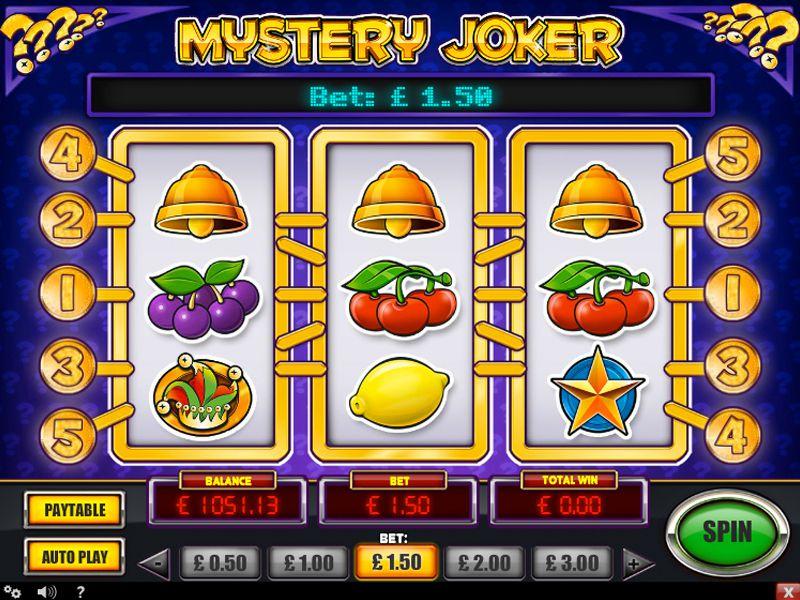 Mystery Joker - Kan du få mystiske pengerne?