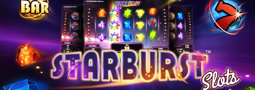 Starburst - Verdens mest klassiske spilleautomat fra NetEnt