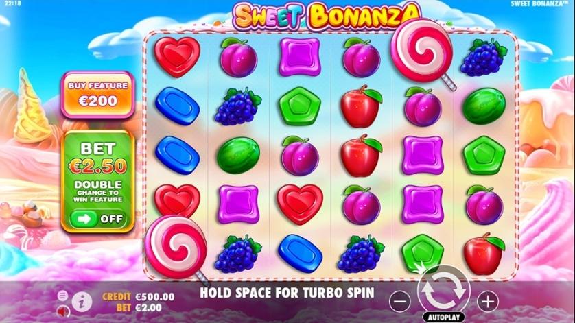 Sweet Bonanza - Candy Crush som en spilleautomat