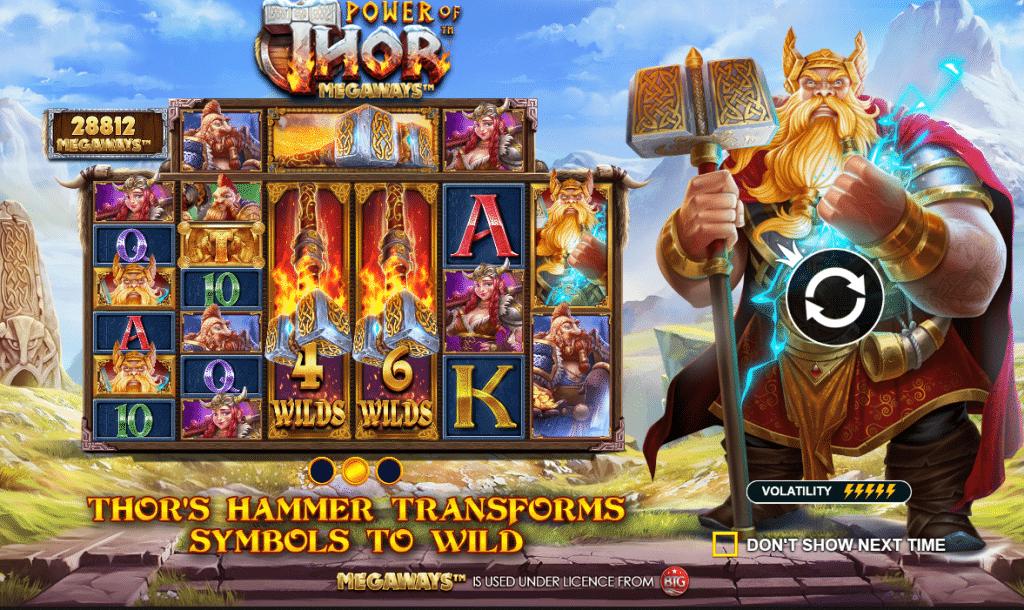 Power of Thor Megaways - Strålende spilleautomat